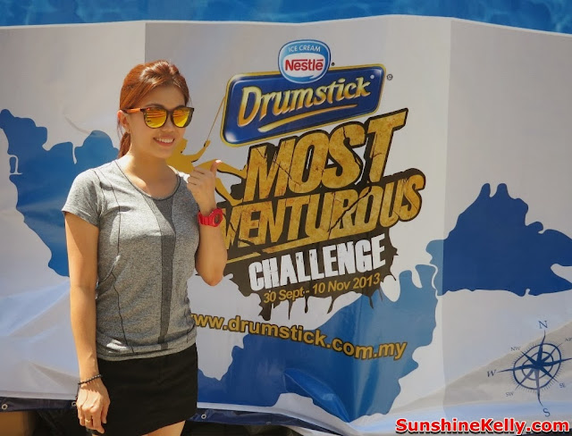 Nestle Drumstick Adventure Challenge, nestle, drumstick, choclate, ice cream, challenge, adventure