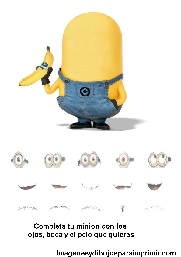 Imagenes De Ojos De Los Minions Para Imprimir