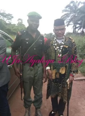 IGP To Punish Policemen Who Posed For Picture With Nnamdi Kanu
