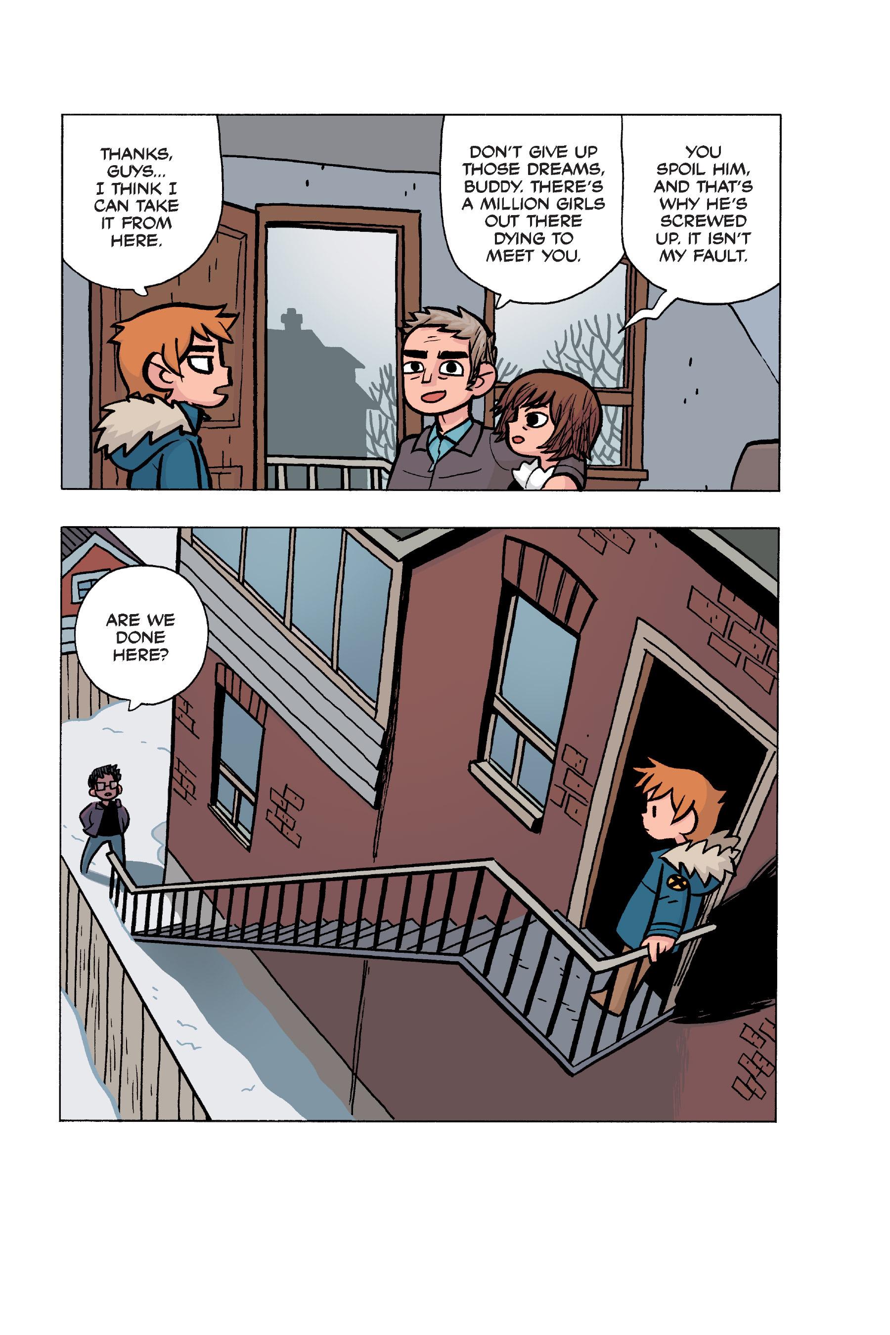 Read online Scott Pilgrim comic -  Issue #5 - 167