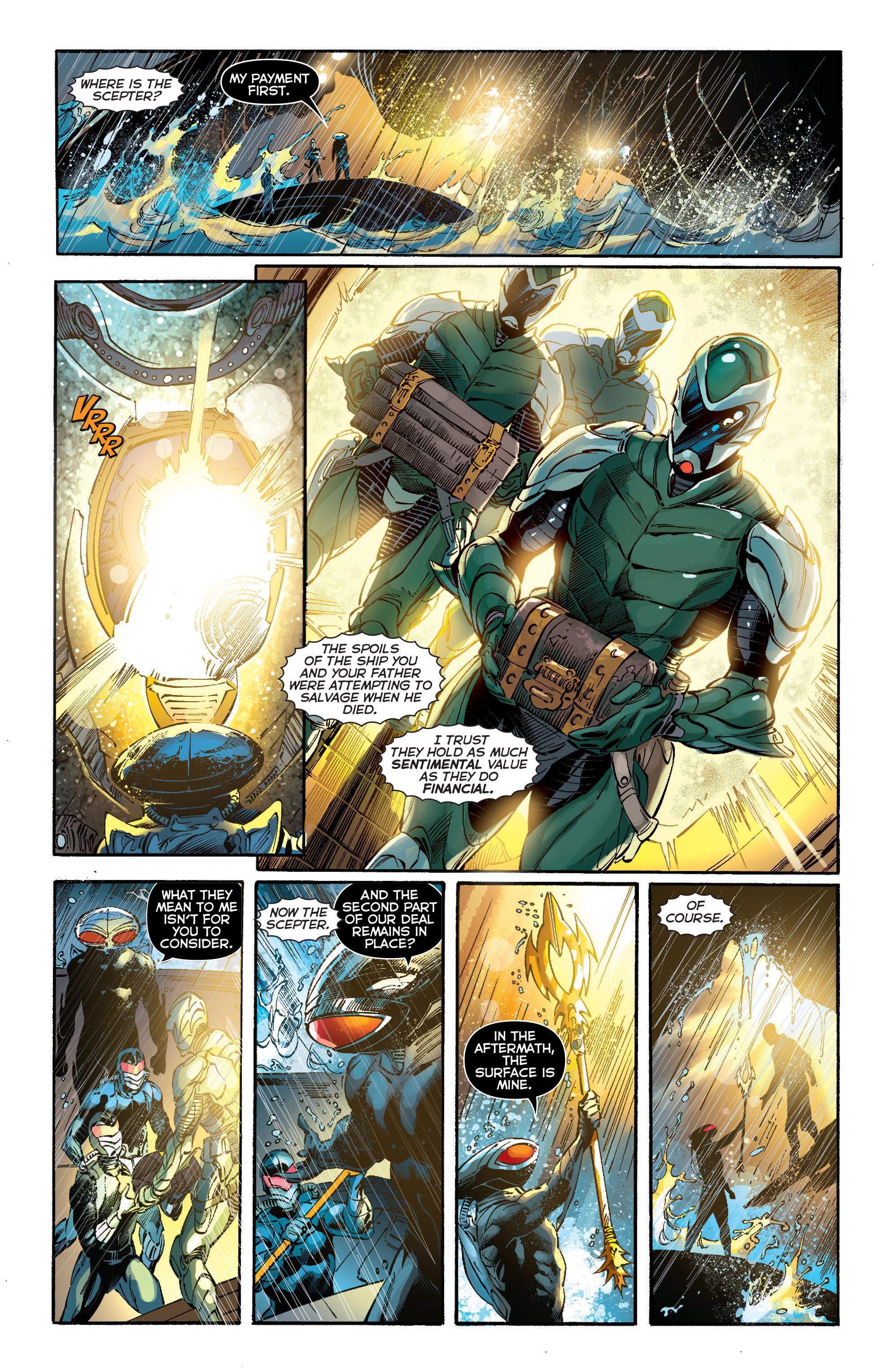 Read online Aquaman (2011) comic -  Issue #13 - 10