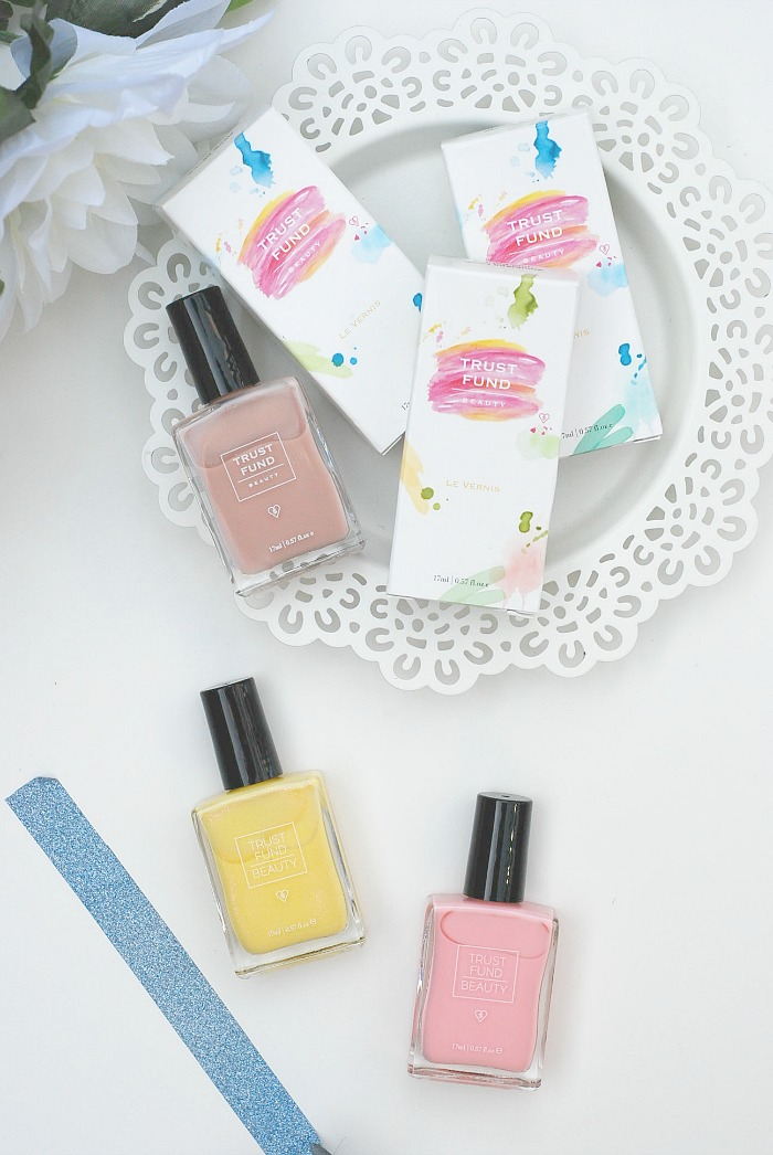 trustfund beauty nail polish swatches review blog