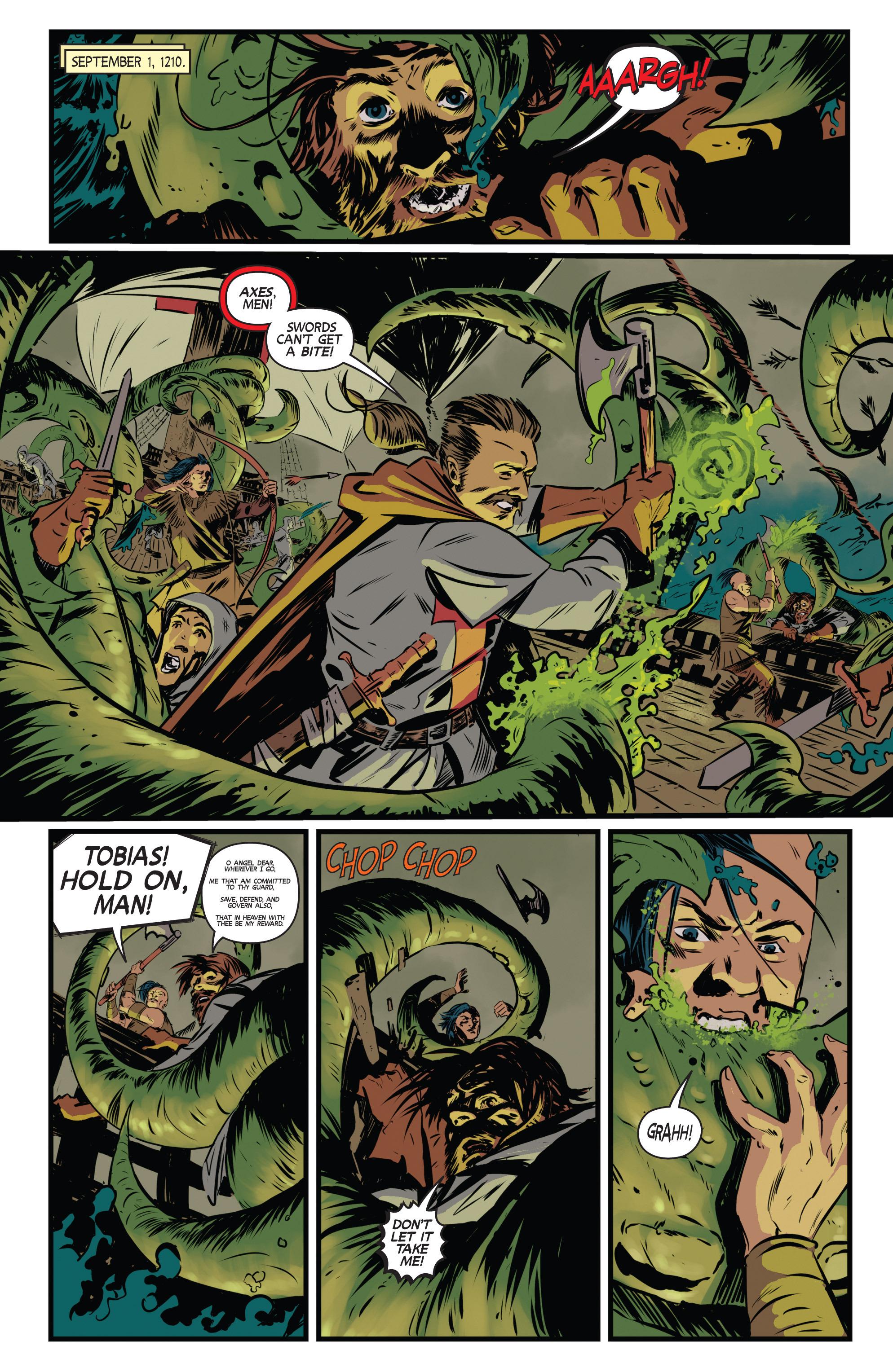 Read online Turok: Dinosaur Hunter (2014) comic -  Issue # _TPB 3 - 21