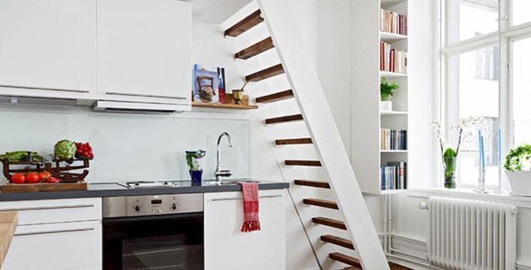 cozinhas integradas para espaços pequenos