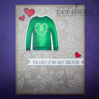 Ugly Sweater sq - photo by Deborah Frings - Deborah's Gems