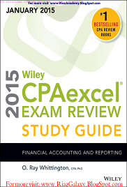 WILEY- CPA EXCEL EXAM -  FINANCAIL ACCOUNTING AND REPORTING STUDY GUIDE