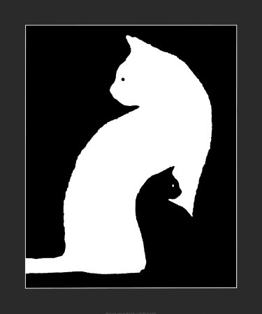 Lungo nero cazzo in bianco micio