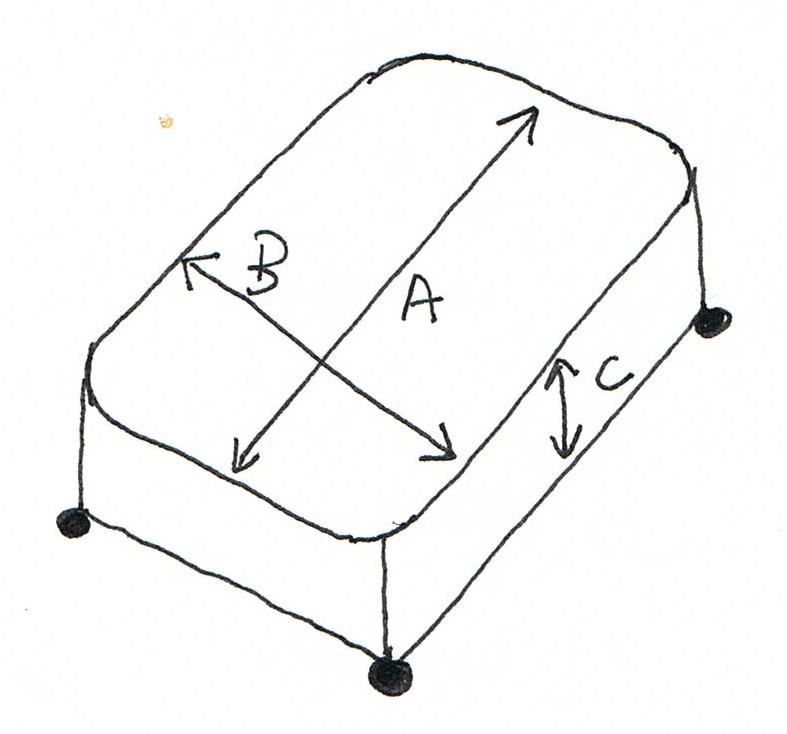 Patrones de costura cubrecanap con fuelles - Como hacer un canape ...