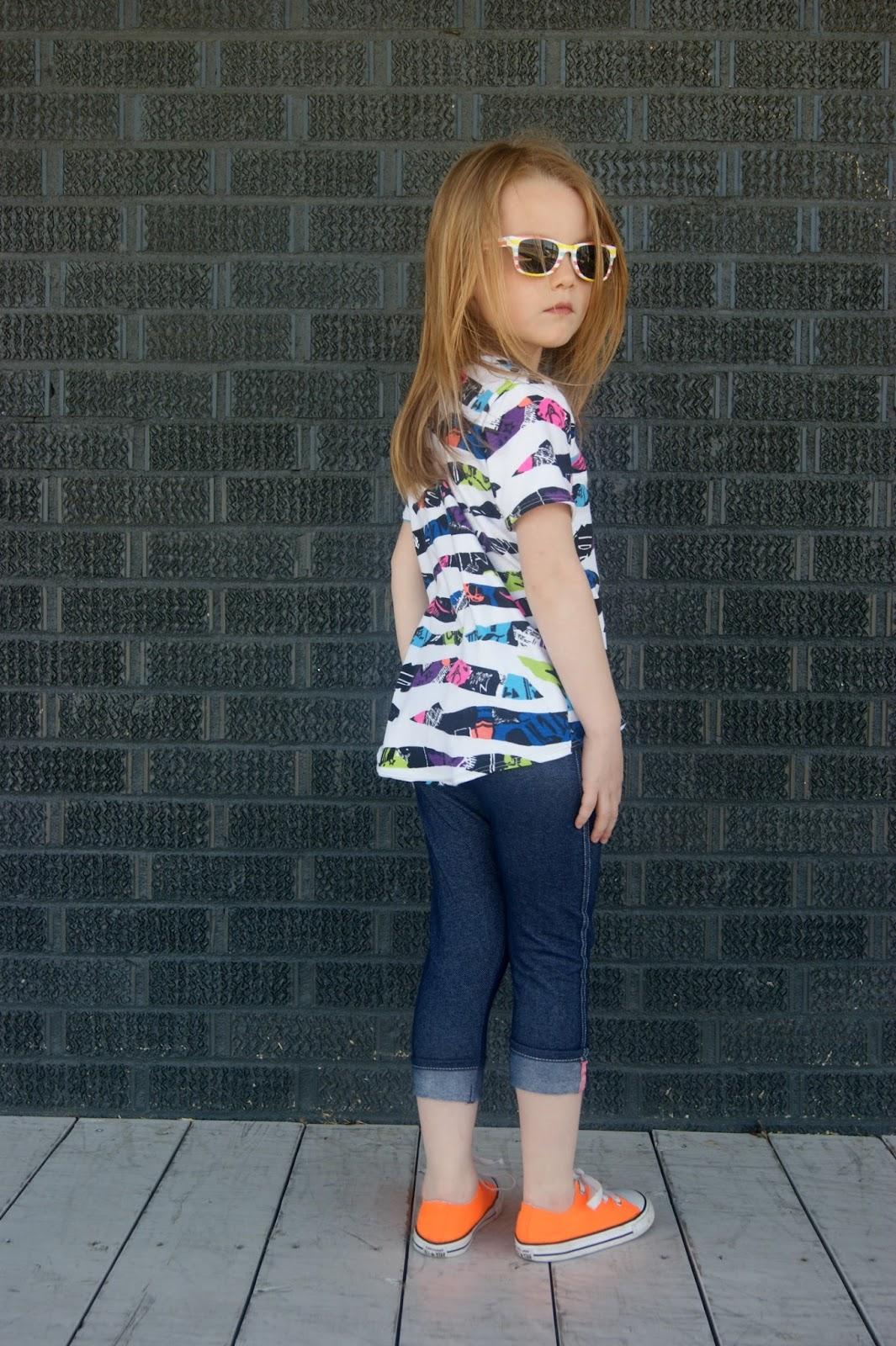 Free pattern: Girls hi-low t-shirt