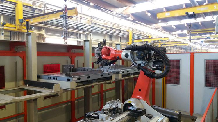 Автоматизация металлообрабатывающего производства Doppelmayr на основе промышленных роботов