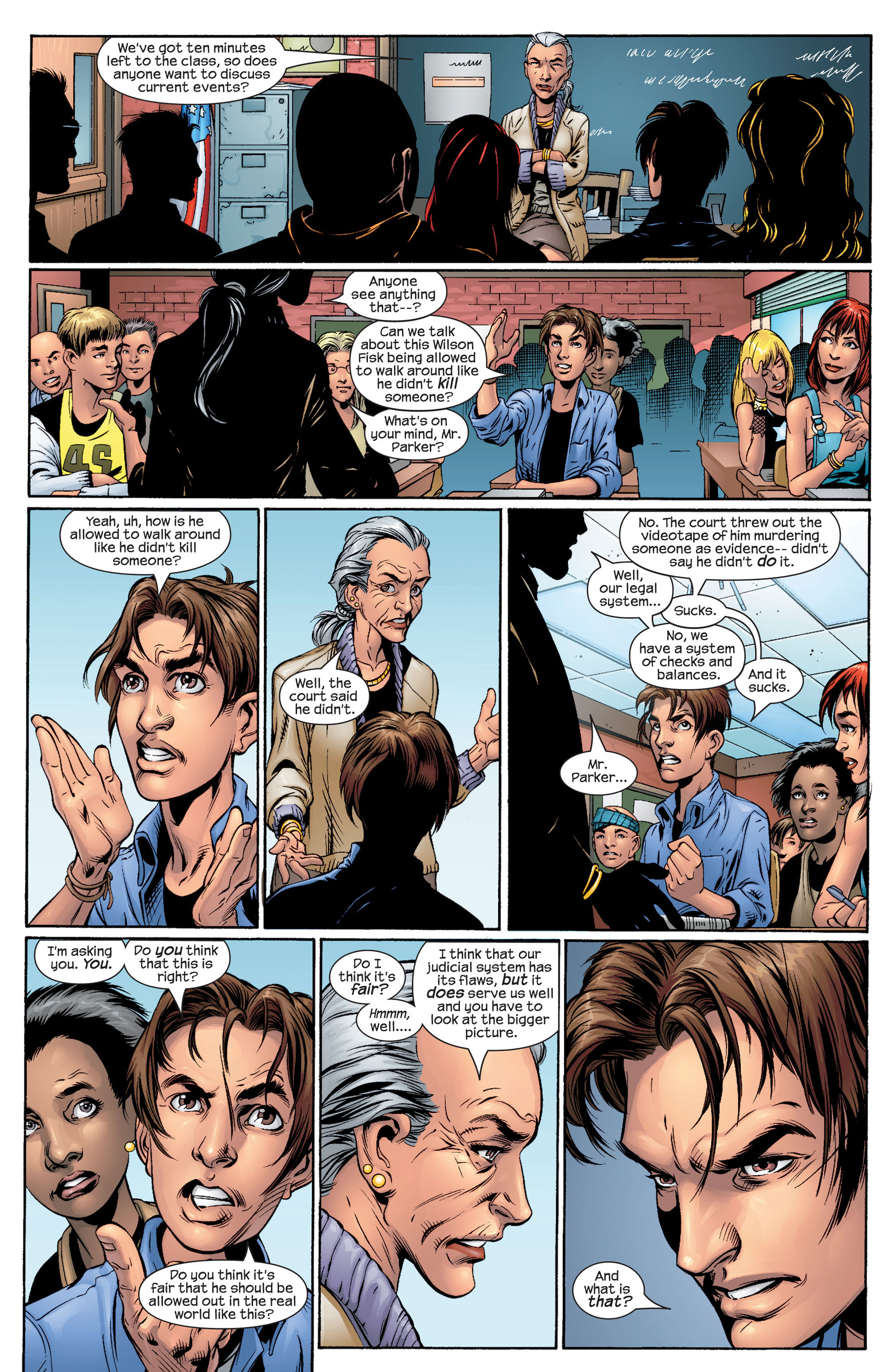 Read online Ultimate Spider-Man (2000) comic -  Issue #48 - 9