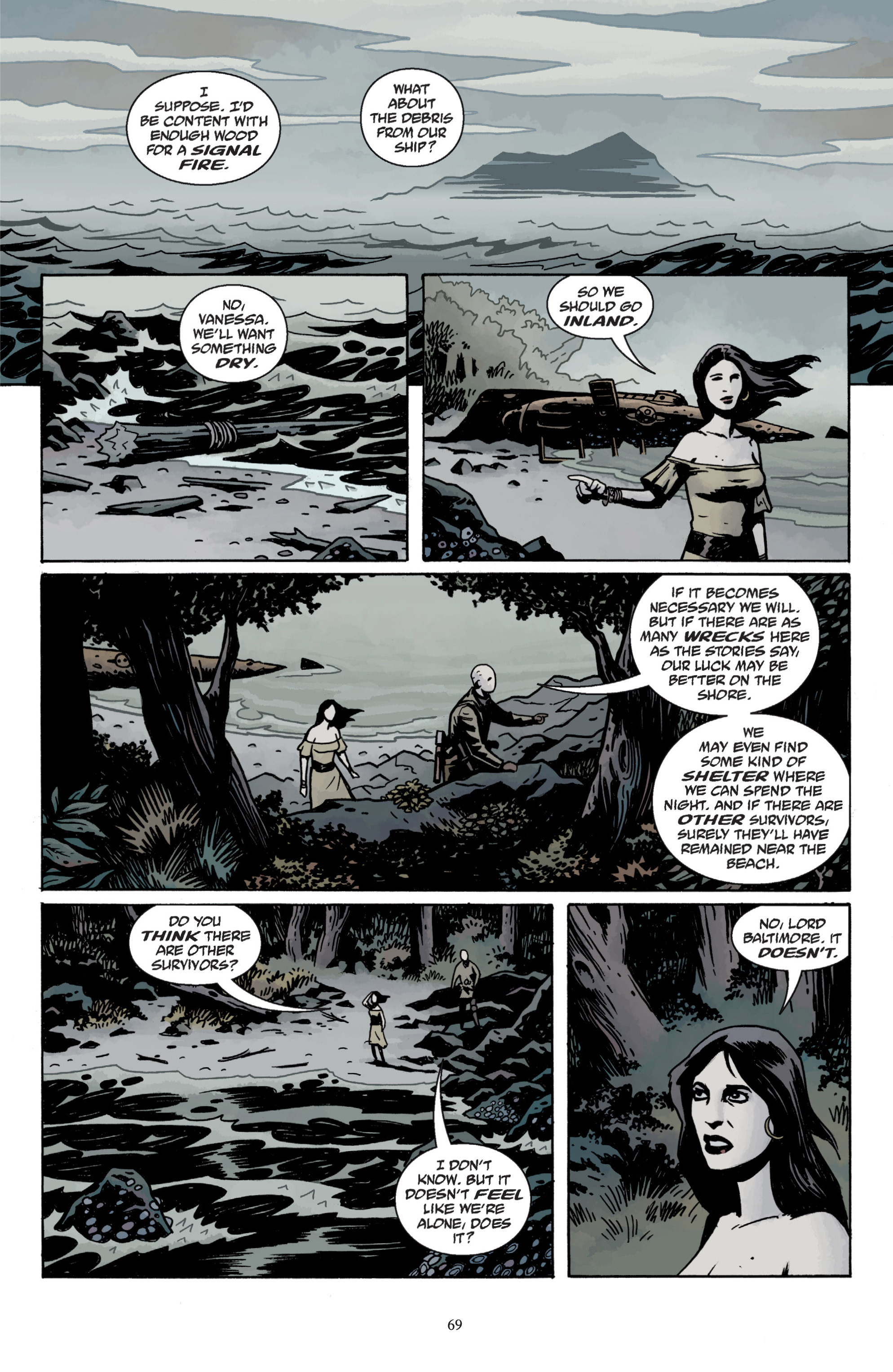 Read online Baltimore: The Plague Ships comic -  Issue # TPB - 71