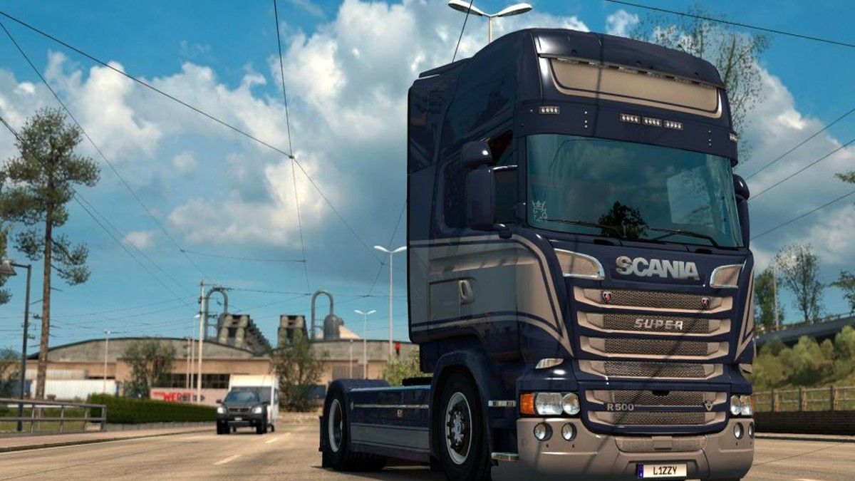 Grace Paintjob Skin for Scania RJL