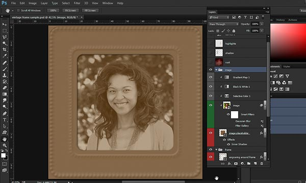 image layers group