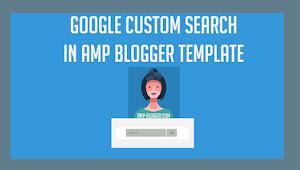 Search Box Google Cse Di Amp Blogger