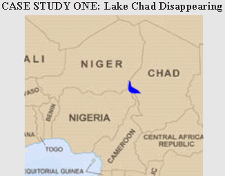 Lake Chad In Africa Map.Lake Chad Map Of Africa Africa Map