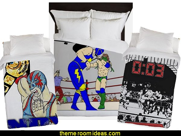 wrestling bedding wrestling duvet wrestling bedding