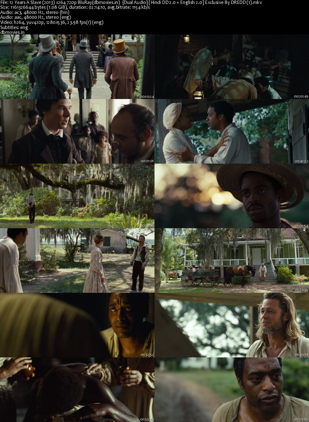 screen shot 12 Years a Slave 2013 Download Full Movie Dual Audio In Hindi 720p