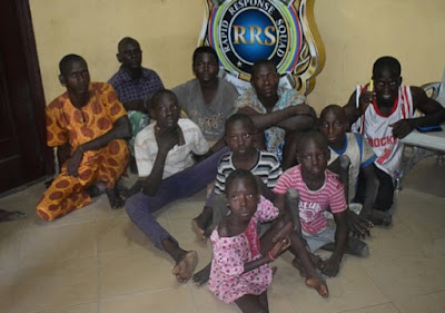 Child Abuse: RRS Nabs Seven In Lagos