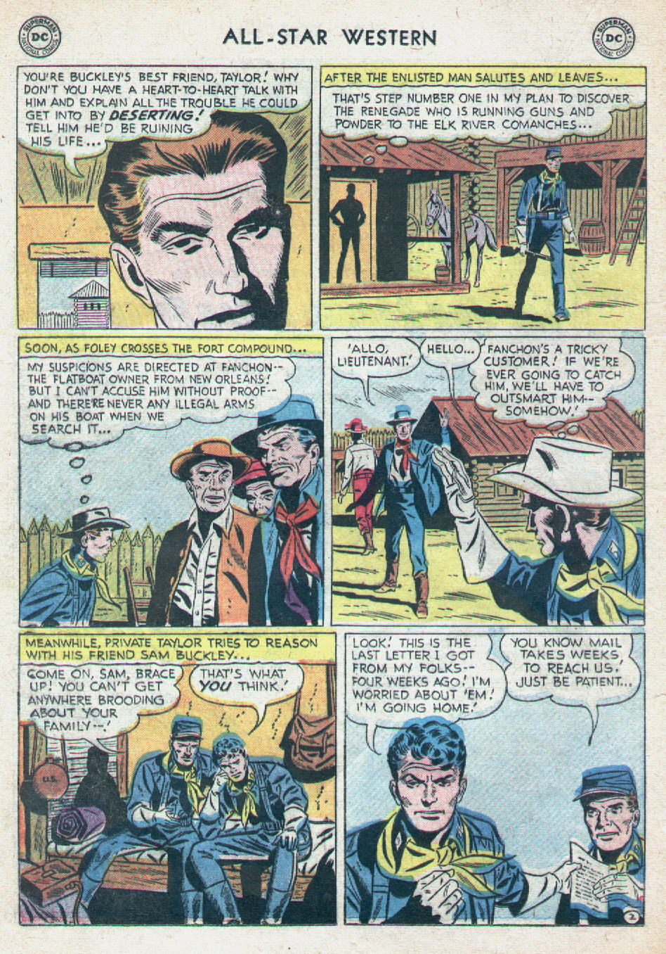 Read online All-Star Western (1951) comic -  Issue #90 - 20