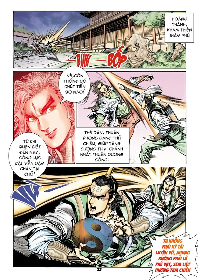 Đại Đường Uy Long chapter 70 trang 22