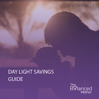 day light savings guide for babies and children