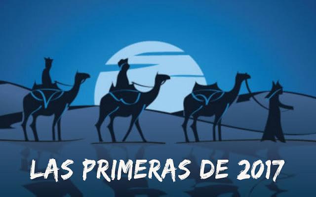 Carreras de Reyes - las primeras de 2017