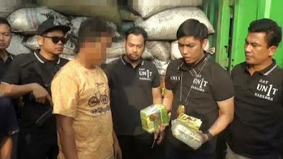 Kontainer Bermuatan Sabu Diamankan Polisi di Tol Bakauheni