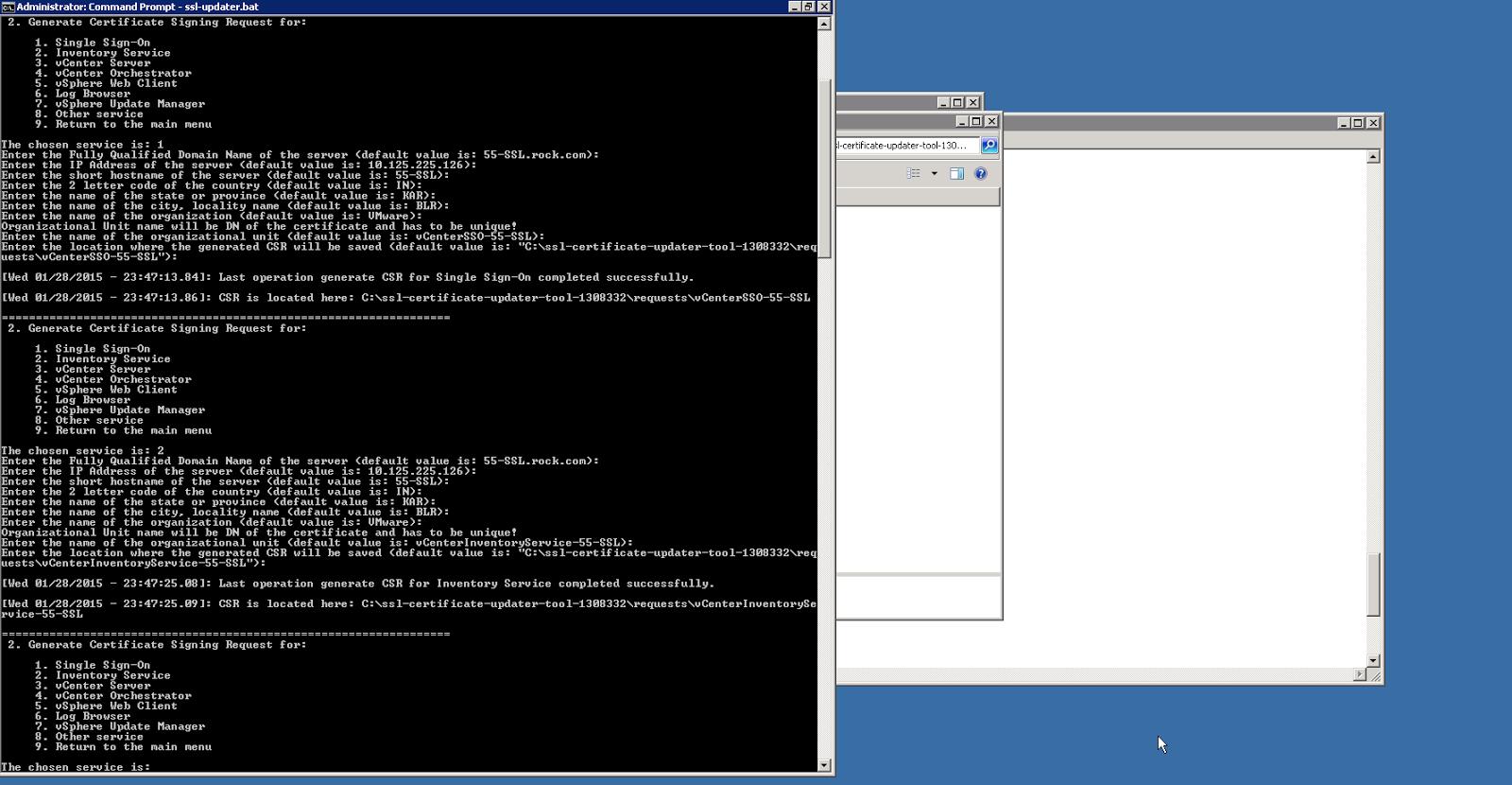VMware vCenter SSL Certificate 101
