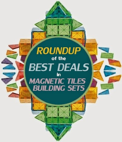 The Best Deals On Magnetic Tile Building Sets Like Magna Tiles Including Magworld Cossy Magrific Playmags Stick N Stack 4d Pico