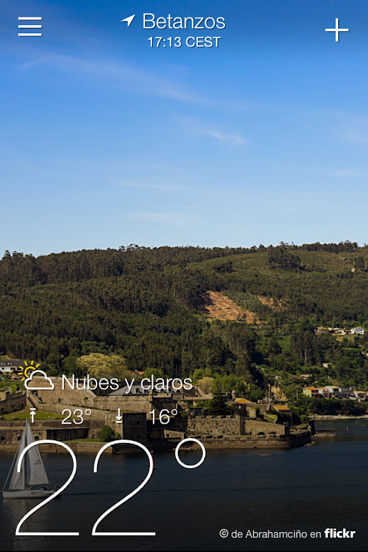 Yahoo Project Weather