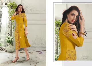Yami fashion Happiness Casual wear kurti