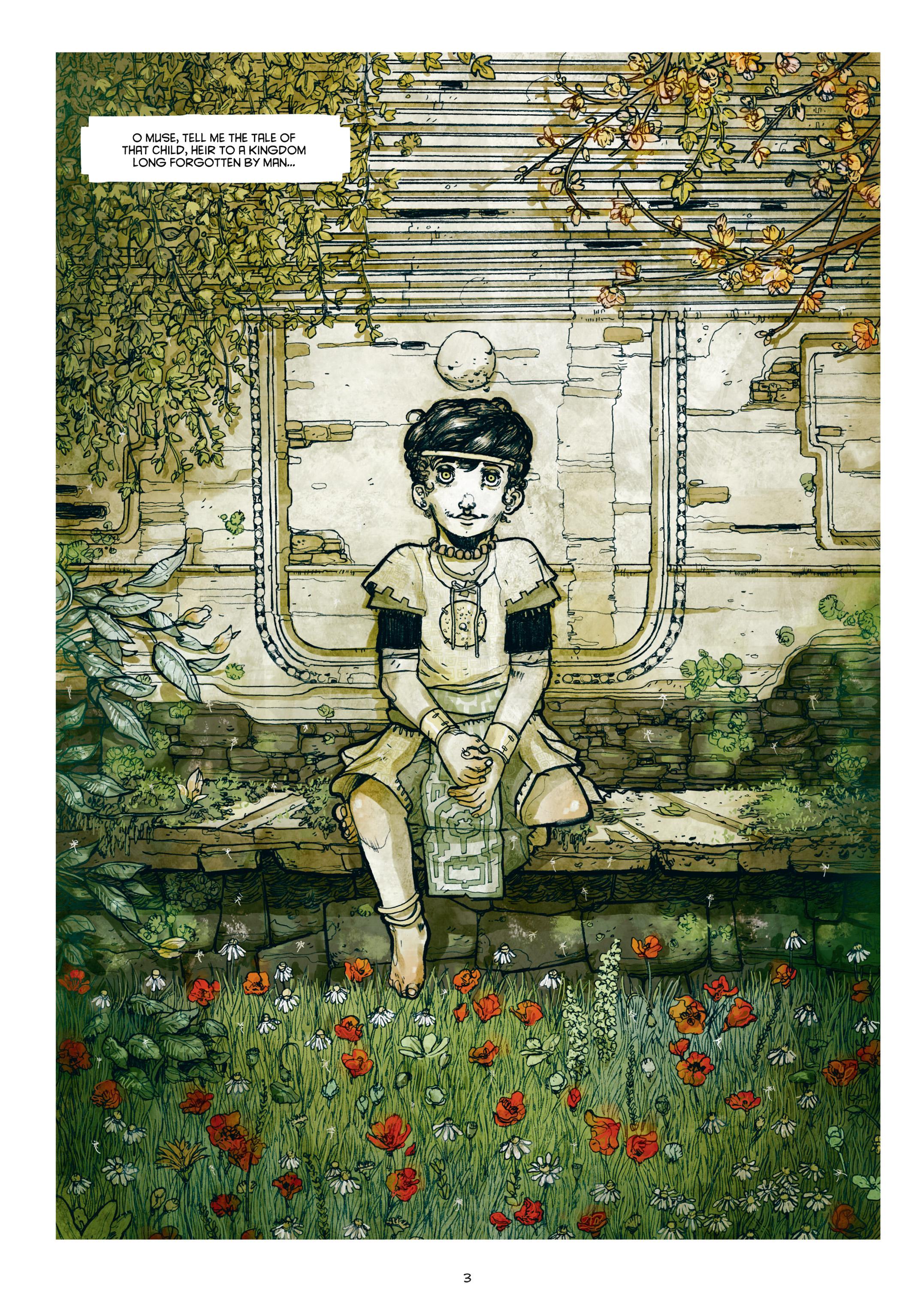 Read online Adrastée comic -  Issue #1 - 4