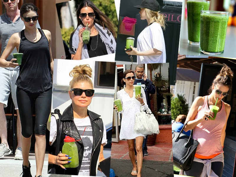 Famosas Glowing Green Smoothie