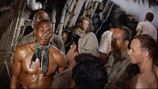 The Last Voyage 1960 Woody Strode sinking ship disaster