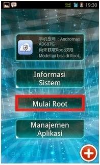Cara Root Andromax G Tanpa PC