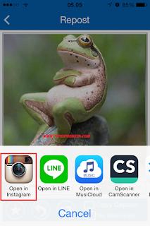 Cara Download Foto Dan Video Di Instagram iPhone 5