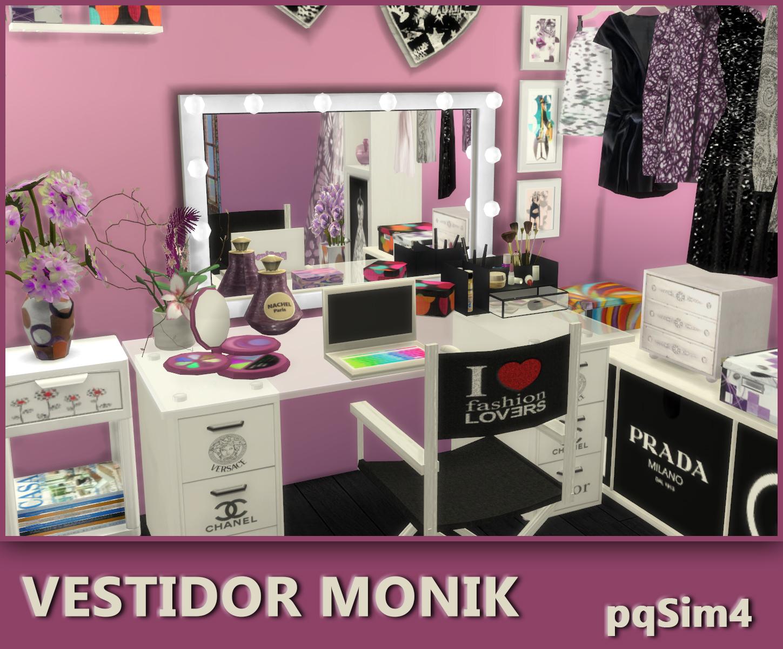 Vestidor Quot Monik Quot Sims 4 Custom Content
