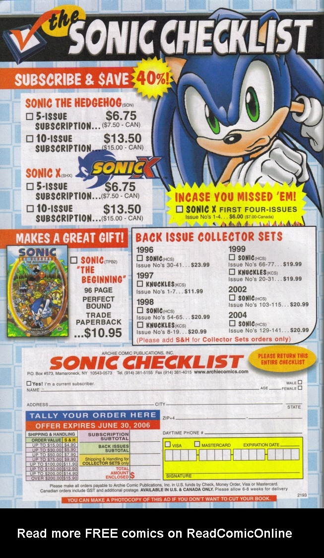 Read online Sonic The Hedgehog comic -  Issue #160 - 34