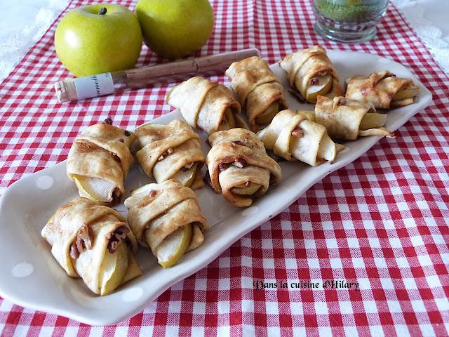Mini bouchées façon apple-pie - Dans la cuisine d'Hilary