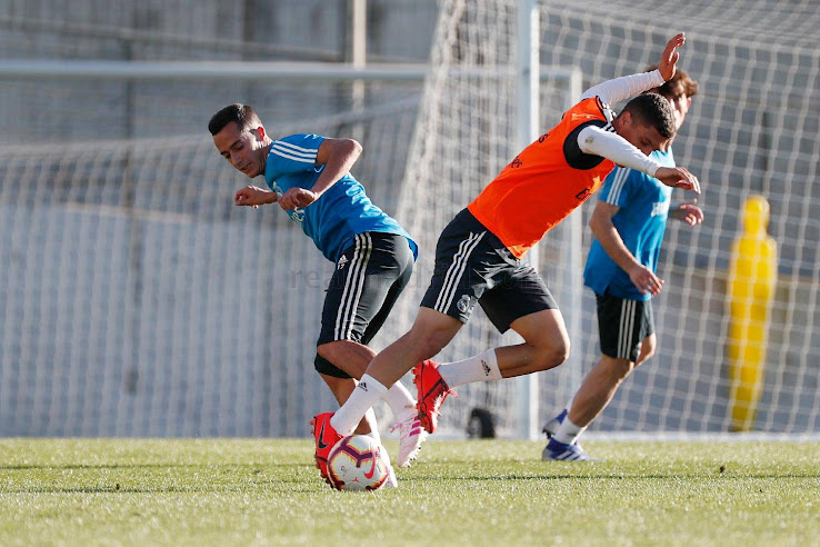 Democracia correcto Adivinar  Real Madrid Players Train in Unreleased Adidas Copa, Nemeziz & X Virtuoso  Pack Boots - Footy Headlines