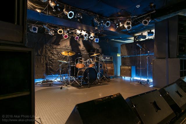 東京都国分寺市にあるライブハウス、モルガーナの店内写真