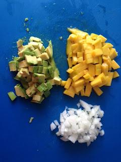 Picar frutas