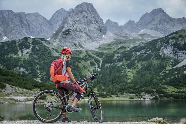 Bikebergsteigen Mieminger Kette