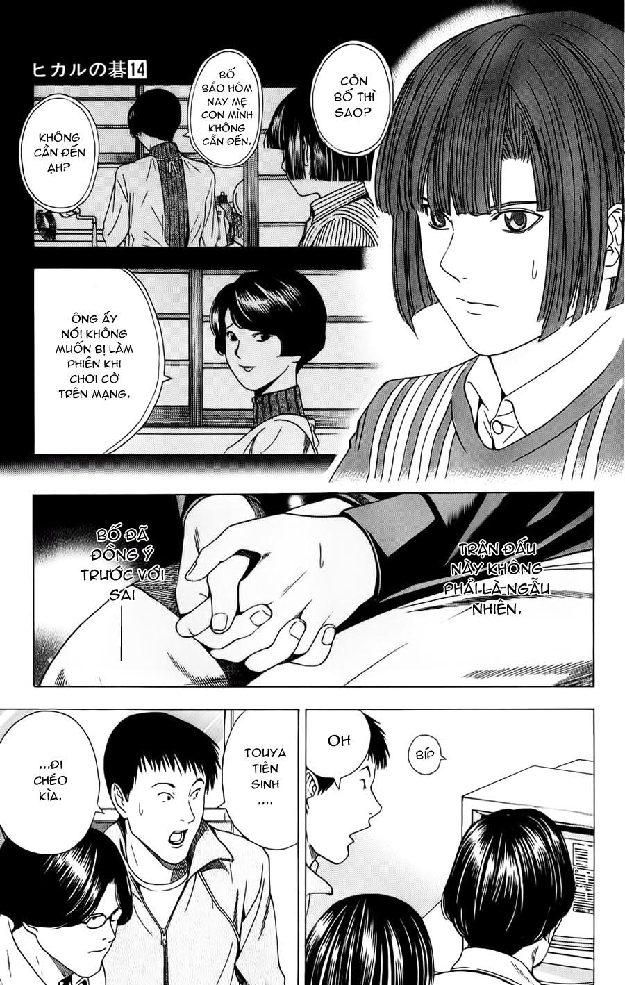 Hikaru No Go hikaru no go chap 114 trang 16