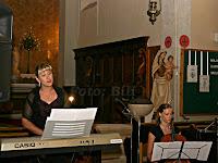 koncert duhovne glazbe u crkvi, Postira otok Brač slike