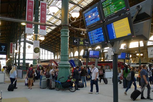 Tour de la Belgique en vélo, Gare du Nord