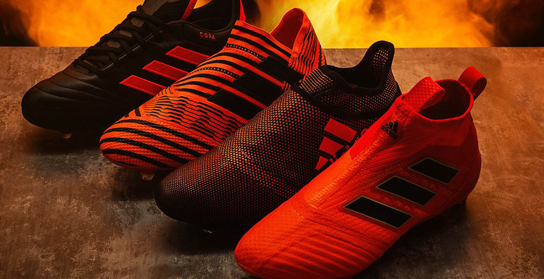 91143e05d72 ... The new Adidas Pyro Storm football boots pack brings new colorways to  the Adidas Ace