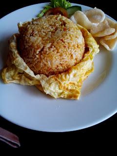 nasi goreng teri bumbu sederhana