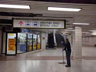 Bathurst Station.